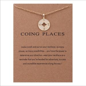 Jewelry - Going places Compass necklace